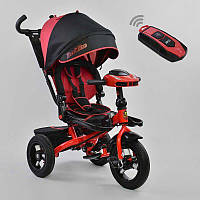 Детский трехколесный велосипед Best Trike 6088F-1120 с пультом красный (6088F-1120 красный)