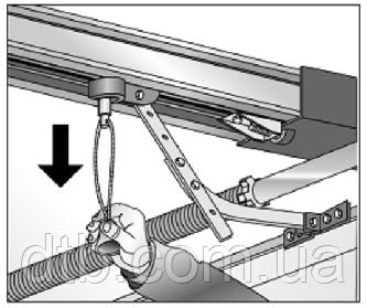 Ручное управление воротами с приводом