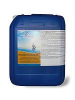 Непенящийся немецкий альгицид Альба Супер К 10 литров. Средство против водорослей в бассейне Chemoform