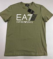 Футболка мужская Emporio Armani EA7 D4099 хаки