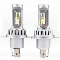 Комплект светодиодных ламп   NAPO V H4 4600 LUM/лампа, 6000K, 2 шт/комп.