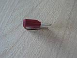 Предохранитель большой 35А 32V плоский штыревой 29х34мм Tesla Тесла вишневый корпус полупрозрачный 35а 32в, фото 4