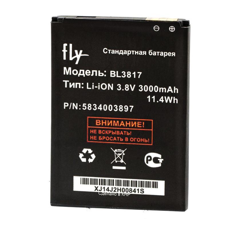 Аккумулятор Fly BL3817 (iQ4417 Era Energy 3), 2000 mAh Оригинал