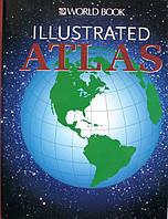 ILLUSTRATED ATLAS. Ілюстрований атлас англійською. Дитяча книга англійською. Детская книга на английском, фото 1