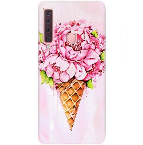 Чехол для Samsung Galaxy A9 2018 с рельефным принтом Ice-Cream