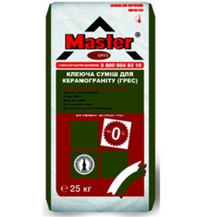Master Progres клей для керамогранітної плитки 25кг