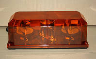 Мигалка желтая под лампочку двойная 12вольт TR515-3 для грузовиков(8333TR5153)