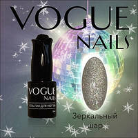 Гель лак с глиттером Зеркальный шар Vogue Nails коллекция Волшебная Ночь, 10 мл