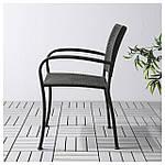 IKEA LACKO Садовый стул, серый  (401.604.78), фото 2