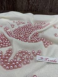 Бусины акриловые 12 мм светло розовые