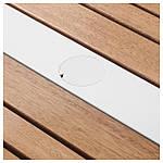 IKEA SJALLAND Садовый стол, светло-коричневый, светло-серый  (792.624.47), фото 5