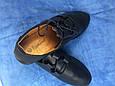 Туфли женские 41-43 черные синие, фото 2
