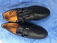 Туфли женские 41-43 черные синие, фото 4