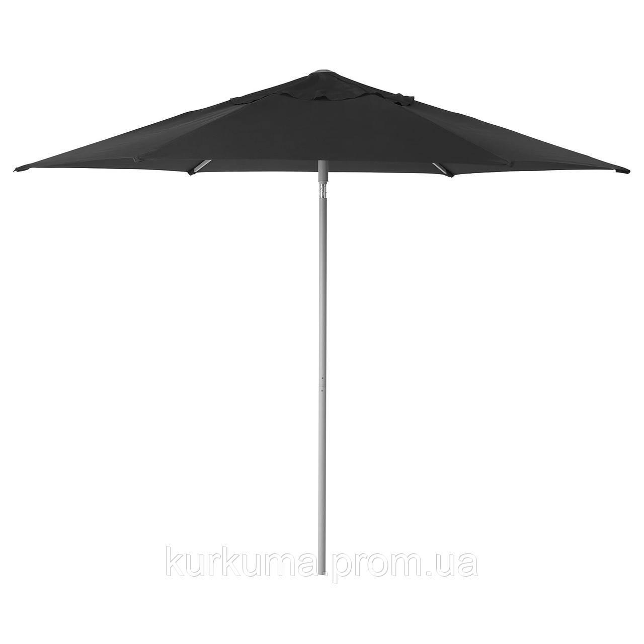 IKEA KUGGO/LINDOJA Зонт, черный  (892.678.02)