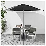 IKEA KUGGO/LINDOJA Зонт, черный  (892.678.02), фото 2