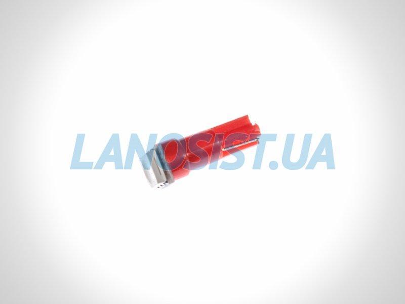 Лампа LED W1,2W 14Lm 1xSMD (5050) (красная) 15140.