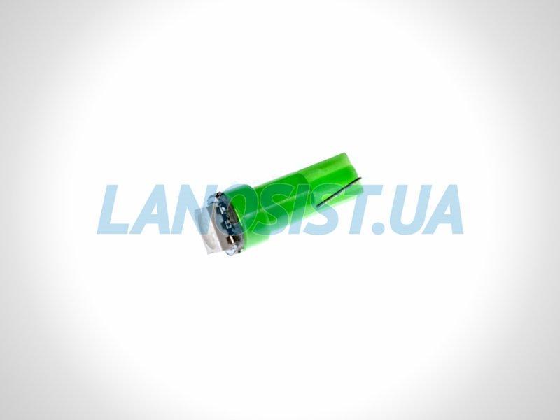 Лампа LED W1,2W 14Lm 1xSMD (5050) (зеленая) 15150.