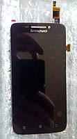 Lenovo S650 тачскрін + дисплей LCD оригінальний екранний модуль