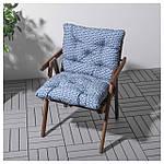 IKEA FALHOLMEN Садовый стул, серо-коричневая морилка  (503.130.94), фото 3