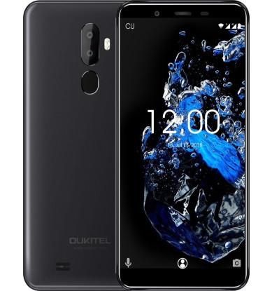 """Смартфон Oukitel U25 Pro 4/64Gb Black, 13+2/5Мп, 5.5"""" IPS, 2SIM, 4G, 3200мАһ, 8 ядер, MT6750T"""