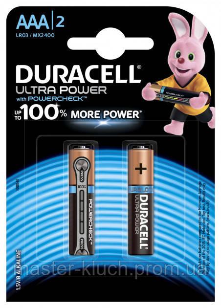 Батарейка Duracell Ultra Power AAA LR03