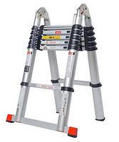 Стремянка-лестница телескопическая 2.1-3.85 М