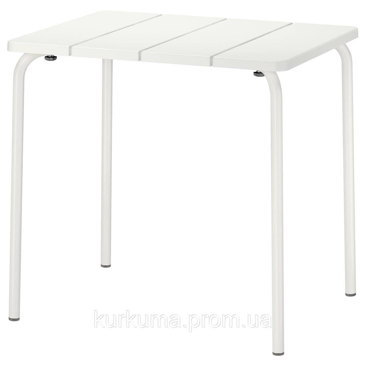 IKEA VADDO Садовый стол, белый  (402.595.11)