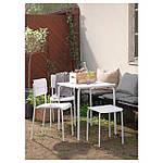 IKEA VADDO Садовый стол, белый  (402.595.11), фото 5