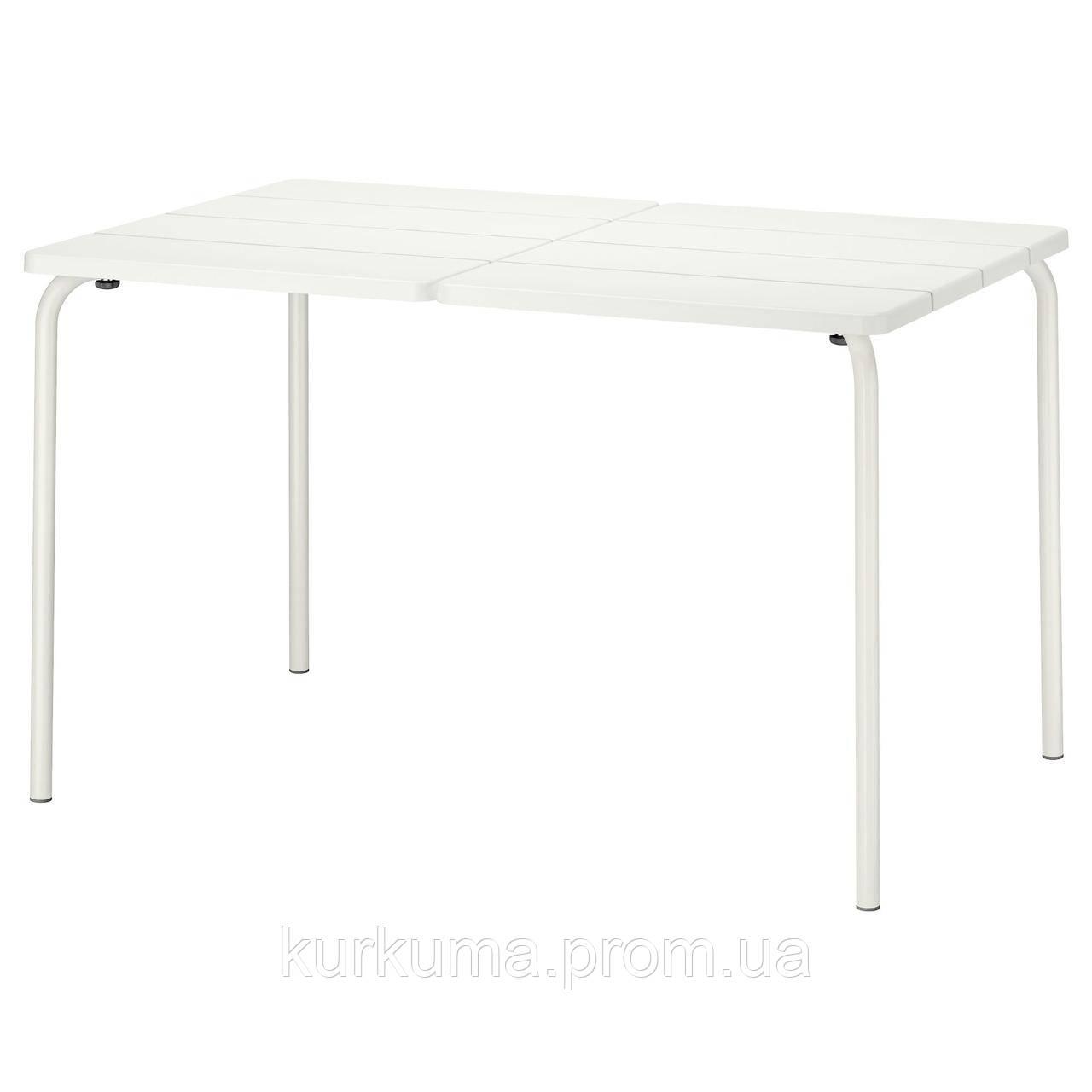 IKEA VADDO Садовый стол, белый  (802.595.14)