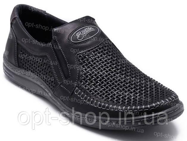 Мужские летние туфли Bastion