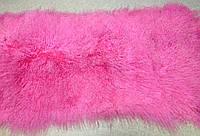Лама натуральная ПЛАСТИНА розовая, фото 1