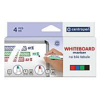 Набор маркеров centropen board 8559/04 4 штуки для сухостираемых досок