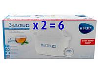 Комплект набор картриджей BRITA MAXTRA PLUS Брита Макстра +  6 картриджей.