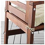 IKEA HALLO Подушка для садового кресла, бежевый  (502.616.79), фото 3