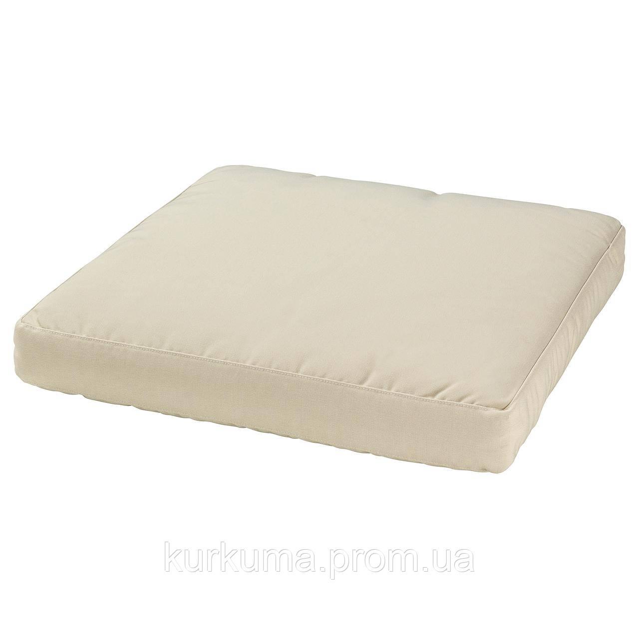 IKEA HALLO Подушка для садового кресла, бежевый  (002.600.74)