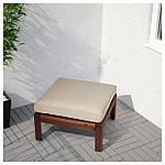 IKEA HALLO Подушка для садового кресла, бежевый  (002.600.74), фото 2