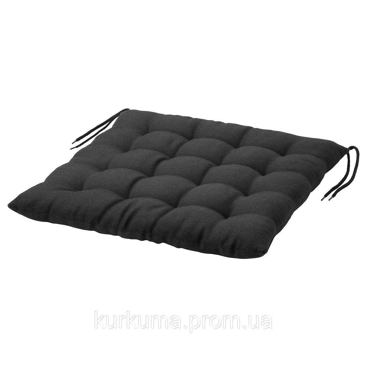 IKEA HALLO Подушка для садового кресла, черный  (402.644.85)