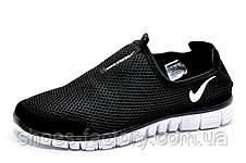 Літні кросівки в стилі Nike Free Run 3.0, в сіточку (Slip On), фото 2