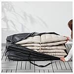 IKEA TOSTERO Сумка для подушек, черный  (202.923.28), фото 3