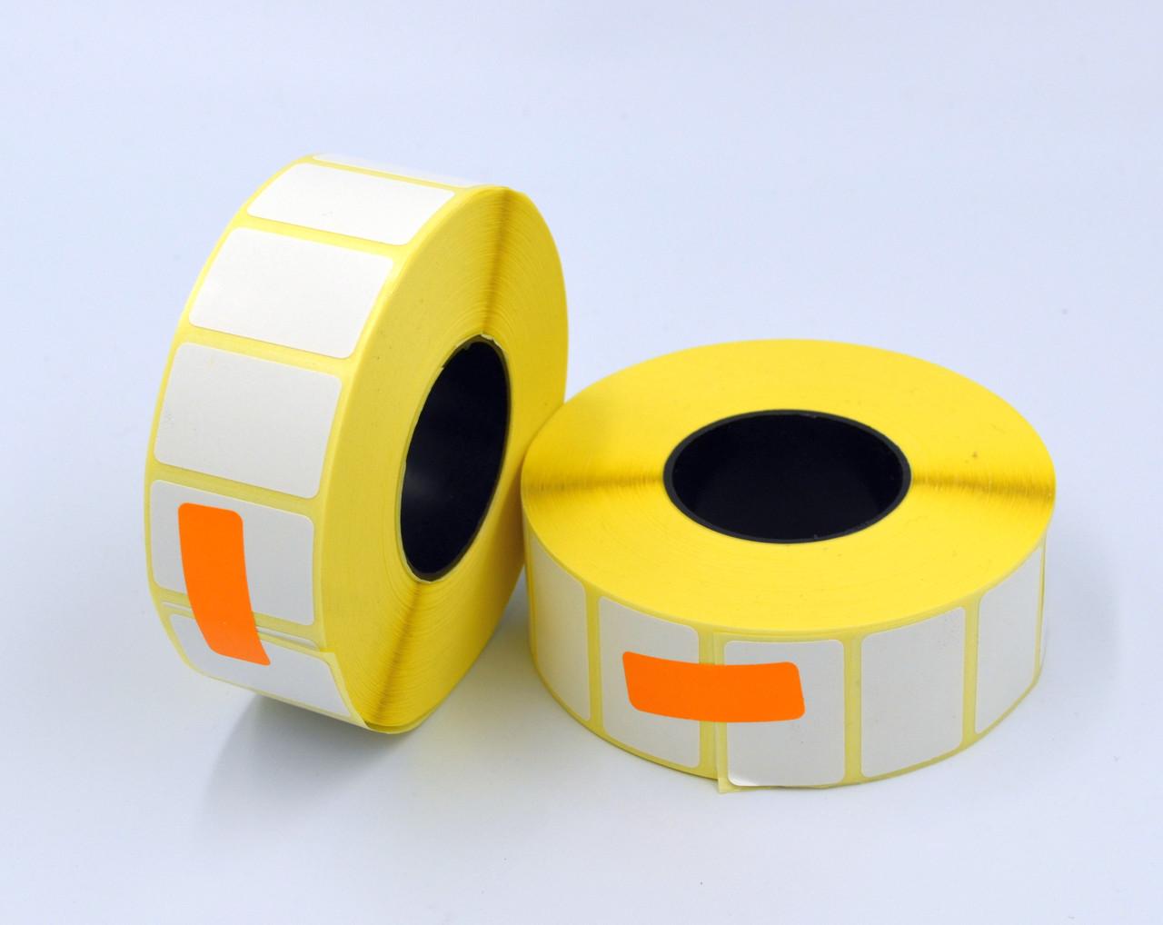 Этикетка SemiGloss полуглянец 30x20 мм 2000 этикеток прямоугольная 10 шт. White (SG30202000V40)