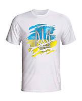 Мужская футболка с принтом  National  (S)