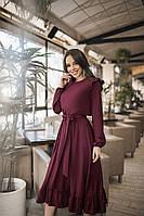 ТК2262 Женское красивое платье (разные цвета)