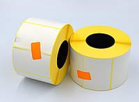 Этикетка 58*40 1000шт. вт.40 полуглянец для термотрансферных принтеров, диаметр рулона 94 мм.