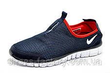 Летние кроссовки в стиле Nike Free Run 3.0, в сеточку (Slip On), фото 3