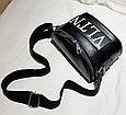 Сумка женская кросс-боди Valentino (черная), фото 3