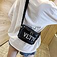 Сумка женская кросс-боди Valentino (черная), фото 5
