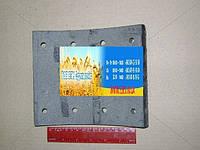 Накладка гальмівна КАМАЗ сверленая (вир-во Трібо) 5511-3501105-01, фото 1