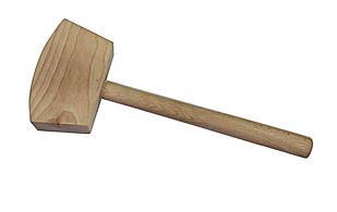 Киянка деревянная квадратная, бук, 460 гр., CORONA (C2445)
