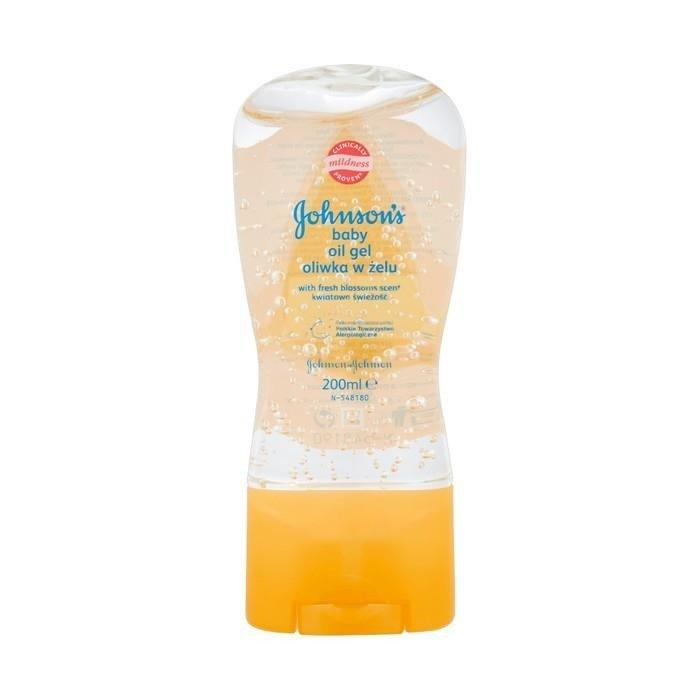 Johnson`s baby oil gel oliwka w zelu свіжість квітки 200 мл