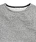 Стильный серый свитшот на девочек 8 - 10 лет, р. 134 - 140, H&M, фото 2